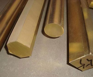 What are the properties of beryllium copper rods?