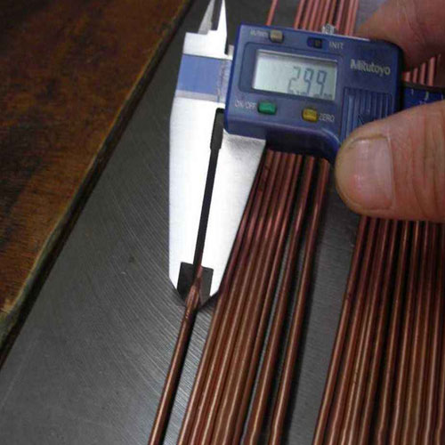 3 mm beryllium copper rod